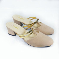 LADY SHOES OC2 CREAM - (HO-009)
