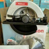 "PROMO mesin gergaji kayu circular saw 7"" merk Nikkon."