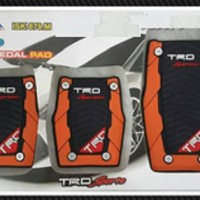 Pedal Gas TRD Sportivo Manual Orange Hitam [Exclusive]