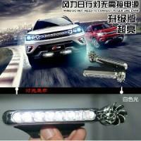 Lampu Led Mobil Tenaga Angin / Car Led Lamp Wind Power F9