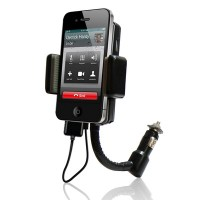 3 In 1 Universal All Channel FM Transmitter Car Charger Hands Free K