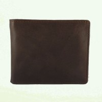 BAGNEZIA Bovine Pull Up Dark Brown Man Leather Goods Dot Dompet