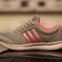 Sepatu Adidas Zoom Woman Abu Pink