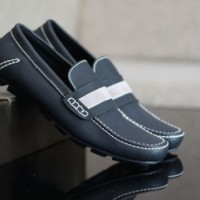 Sepatu Bally Mocasin Black