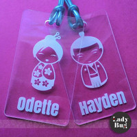 PROMO BAG / LUGGAGE TAG - (DESIGN: COUPLE 01)