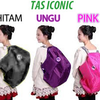 PROMO ICONIC 3 WAY BAG KOREAN STYLE FASHION IMPOR KEREN DAN TRENDY