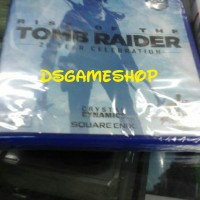 BD / KASET PS4 RISE OF THE TOMB RAIDER 20 YEAR CELEBRATION