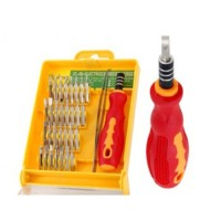 Obeng Set Toolkit 32 In 1 Dengan Pinset