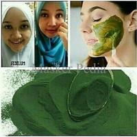 Spirulina Masker Lumpur Herbal