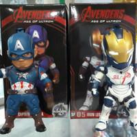 Action Figure Captain America & Ironman Legion (PROMO AKHIR TAHUN 2016