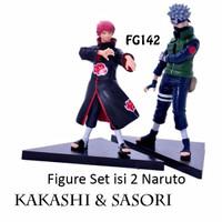 Kado Hobi FG142 Pajangan Figure Set Kakashi & Sasori Isi 2 Naruto