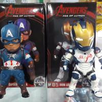 Action Figure Captain America & Iron Legion (Kid Logics)
