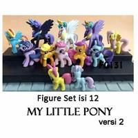 Kado Hobi FG131 Pajangan Figure Set My Little Pony Ver.2 Isi 12