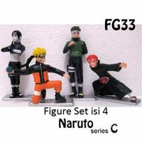 Kado FG33 Figure Set Isi 4 Naruto Action C