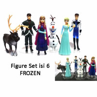 Kado Hobi FG04 Figure Set Isi 6 Frozen