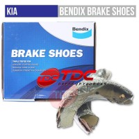 KIA RIO 2012-2013 BRAKE SHOE/KAMPAS REM MOBIL BENDIX GENERAL CT|TMC
