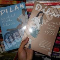 Paket Buku NOVEL Dilan 1990 dan dilan bagian kedua 1991 by Pidi Baiq