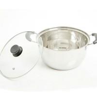 Panci masak stainless Steel 22 cm SALE