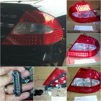 440-1959PXAE-CR STOP LAMP MERCEDES CLK W209 2003 Limited