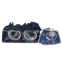 444-1110-PXNDCU2 HEAD LAMP BMW 3 SERIES E36 1991 (CHROM Diskon