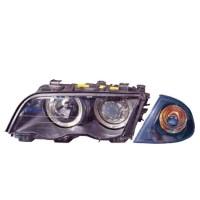 444-1129PXNDAE2 HEAD LAMP + CORNER LAMP BMW 3 SERIES E46 Berkualitas