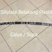 Sillplate / Sil Plat / Door Sill Belakang Plastik Sig Berkualitas