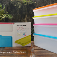 Tupperware Stak N' Stor Set (3pcs)