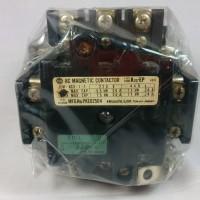Hitachi AC Magnetic Contactor Relay 26A 220V (Jepang) K25 EP kontaktor