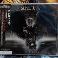 Cd Sepultura - Kairos (Japan-Edition obi)