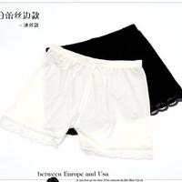 Celana Pendek Dalam / Legging Katun RENDA (WN30)