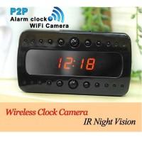 Kamera Pengintai Wifi Ip Camera Clock Night Vision Alarm T10 Hd 1080p