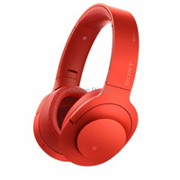 Sony H.ear On Wireless Noice Cancelling Headphone MDR-100ABN - Red
