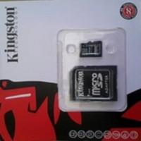 Jual memorycard micro sd kingston 8gb/memorycard microsd kingston 8gb Murah