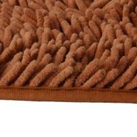 Keset Cendol Dof Coklat 40 X 60 Cm Karpet Bulu Doormat Berkualitas
