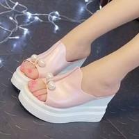 Jual WEDGES MUTIARA SALEM   Sepatu Wanita   Sepatu Wedges   Wedges Mutiara Murah