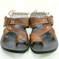 Sandal Pria Kickers Handmade Asli Kulit Berkualitas