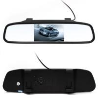 4.3 inch Rear View TFT-LCD Color Car Monitor untuk Kamera Mundur Mobil