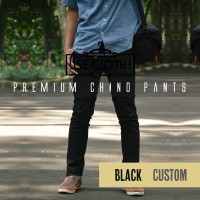 harga Celana Chino, Jogger, Cargo Panjang Black [localbrand: Use-cloth] Tokopedia.com
