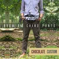 harga Celana Chino, Jogger, Cargo Panjang Chocolate [localbrand: Use-cloth] Tokopedia.com