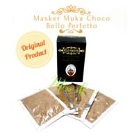 Masker Choco Bello Perfetto Original (Mebuat Wajah Ramping / V-Line