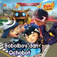 Boboiboy Fun Coloring Boboiboy & Ochobot by Animonsta Studio Sdn. Bh