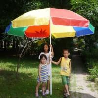 harga payung pantai warna pelangi taman cafe tenda pkl lapak jualan dagang Tokopedia.com
