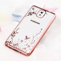 Jual Casing Flower Bling Silicon Soft Case Samsung Galaxy Note 3 Diamond Murah