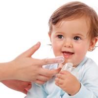 Baby Finger Tooth Brush with Case / Sikat Gigi Jari Silikon Bayi