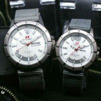 SWISS ARMY KANVAS SEPASANG GREY