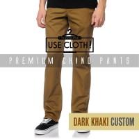harga Celana chino, jogger, cargo panjang Dark Khaki [LocalBrand: USE-CLOTH] Tokopedia.com