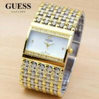 Jam Tangan Guess SA124 - Combi Plat White