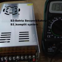 POWER SUPPLY SWITCHING 13.8 V (13.8 VOLT) ( ADJUSTABLE 12V 30A)