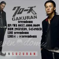 Jas Gakuran Premium Bahan Jet Black