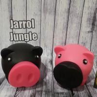 harga Celengan Babi Hitam Pink Set Tokopedia.com